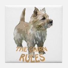 Cairn rules Tile Coaster