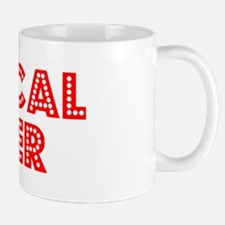 Retro Medical bil.. (Red) Mug