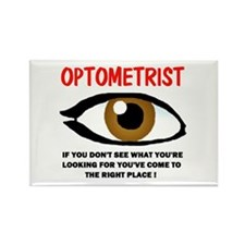 OPTOMETRIST Rectangle Magnet (10 pack)
