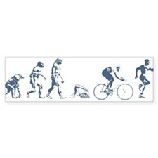 TRIATHLETE EVOLUTION Bumper Bumper Sticker