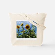 Unique Floral flowers Tote Bag