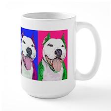 Pop Art Pit Bull Mug