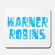 Warner Robins Faded (Blue) Mousepad