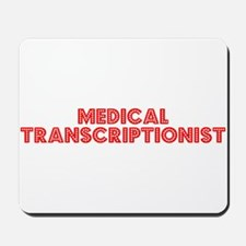 Retro Medical Tra.. (Red) Mousepad