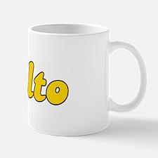 Retro Rialto (Gold) Mug