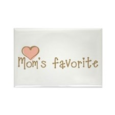 Mom's Favorite Rectangle Magnet (100 pack)
