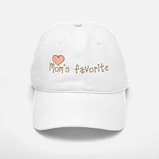 Mom's Favorite Baseball Baseball Cap