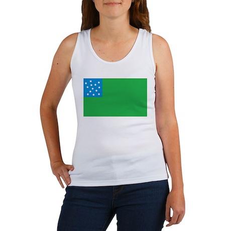 Green Mountain Boys Flag Women's Tank Top
