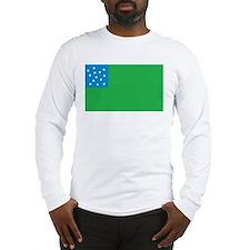Green Mountain Boys Flag Long Sleeve T-Shirt