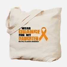 MS Orange for Daughter Tote Bag
