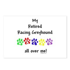 Racer Walks Postcards (Package of 8)