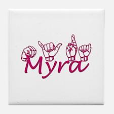 Myra Tile Coaster