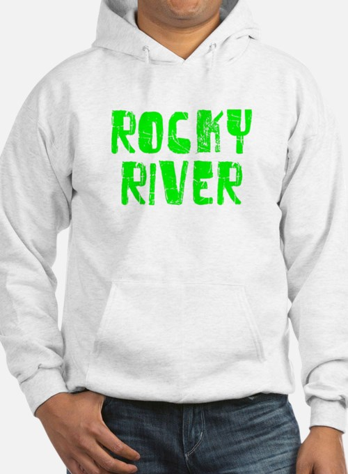 Rocky River Faded (Green) Hoodie