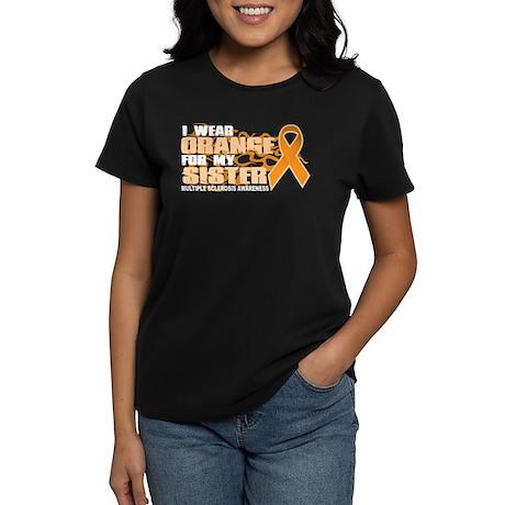 MS Orange for Sister Women's Dark T-Shirt