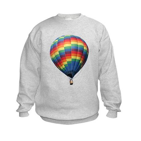 Helaine's Hot Air Balloon 8 Kids Sweatshirt