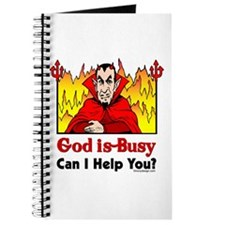God is Busy Journal