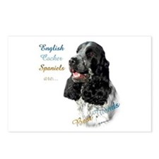 English Cocker Best Friend1 Postcards (Package of
