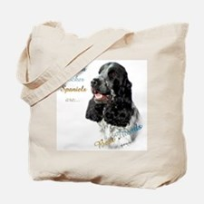 English Cocker Best Friend1 Tote Bag