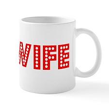 Retro Midwife (Red) Mug