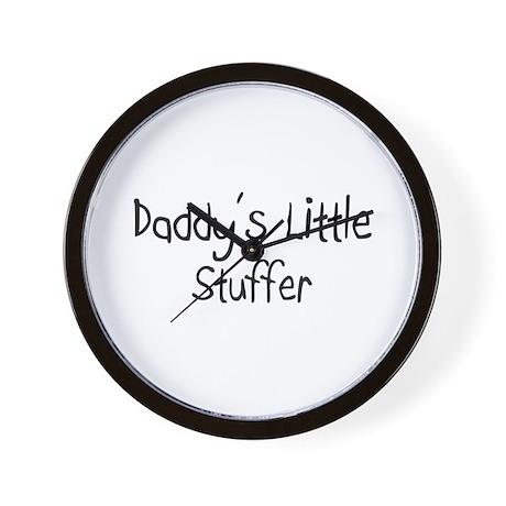 Daddy's Little Stuffer Wall Clock