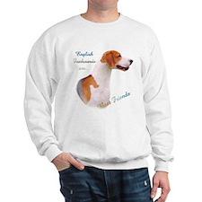English Fox Best Friend1 Sweatshirt