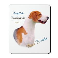 English Fox Best Friend1 Mousepad