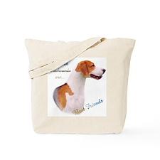 English Fox Best Friend1 Tote Bag