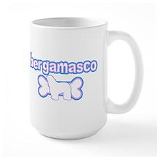 Powderpuff Bergamasco Mug