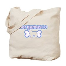 Powderpuff Bergamasco Tote Bag