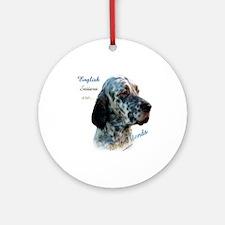 English Setter Best Friend1 Ornament (Round)