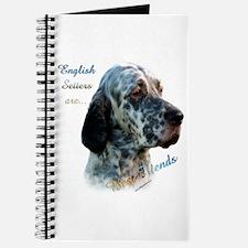 English Setter Best Friend1 Journal