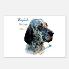 English Setter Best Friend1 Postcards (Package of
