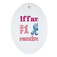 Tiffany - #1 Grandma Oval Ornament