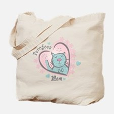 Purrfect Mom Tote Bag
