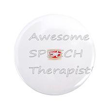 "Speech Therapist 3.5"" Button"