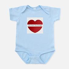 Heart Strength Infant Bodysuit