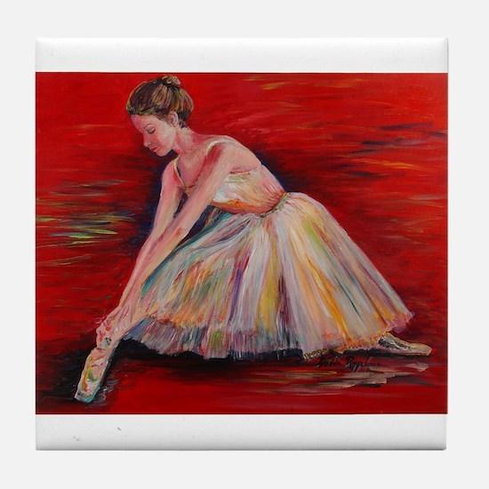 The Dancer Tile Coaster
