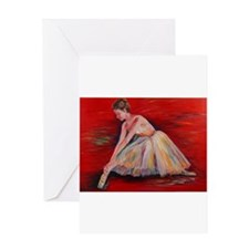 The Dancer Greeting Card