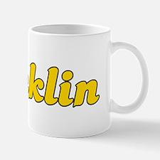 Retro Rocklin (Gold) Mug
