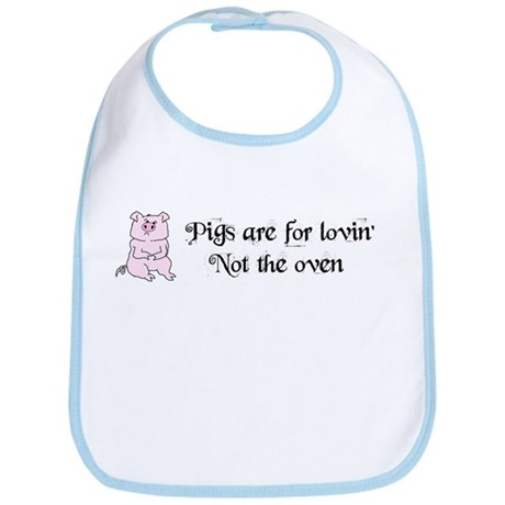 PIGS ARE FOR LOVIN' Bib