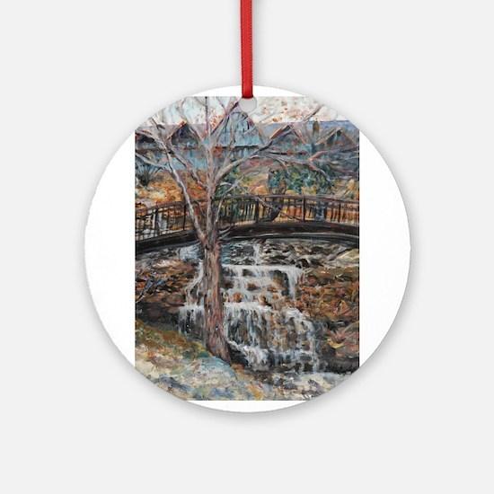 Big Cedar Lodge Ornament (Round)