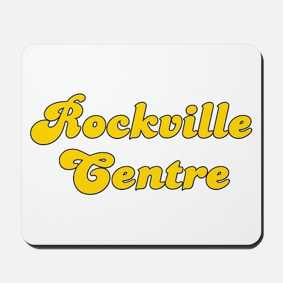 Retro Rockville Ce.. (Gold) Mousepad