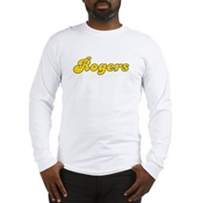 Retro Rogers (Gold) Long Sleeve T-Shirt