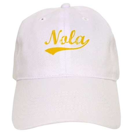 Vintage Nola (Orange) Cap
