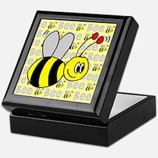 Bees Keepsake Box