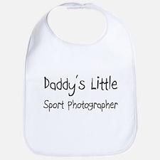 Daddy's Little Sport Photographer Bib