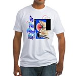Wanna Ride Fitted T-Shirt