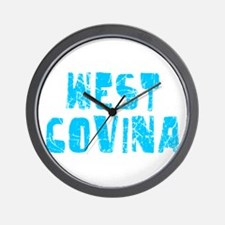 West Covina Faded (Blue) Wall Clock