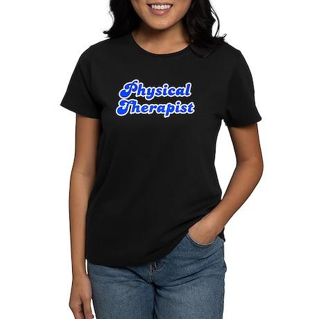 Retro Physical Th.. (Blue) Women's Dark T-Shirt