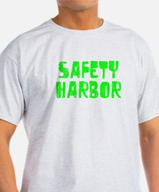 Safety Harbor Faded (Green) T-Shirt